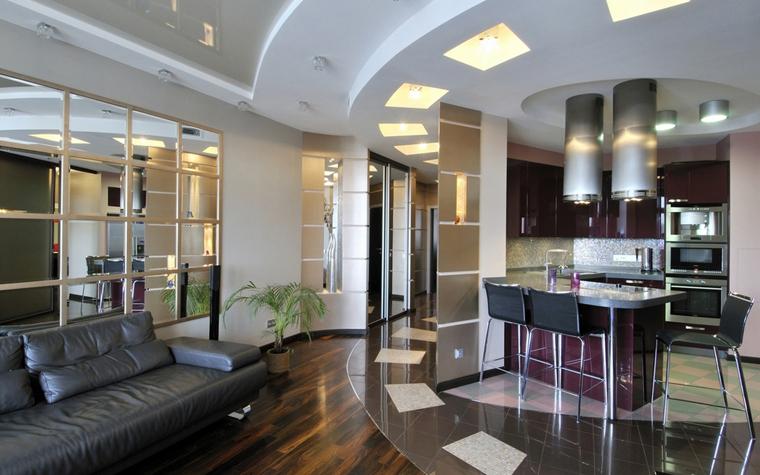 Квартира. гостиная из проекта , фото №7453