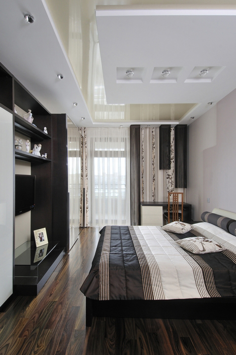Квартира. спальня из проекта , фото №7448