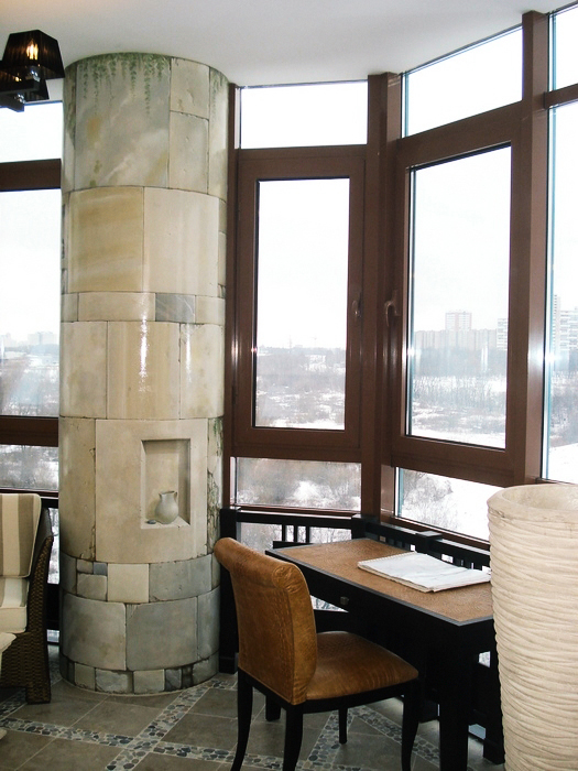 Квартира. кабинет из проекта , фото №7462
