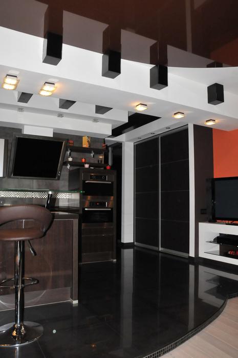Квартира. кухня из проекта , фото №7489