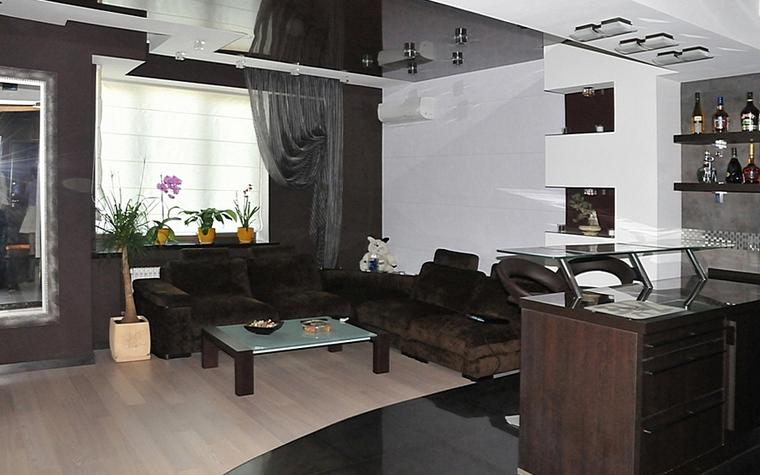 Квартира. гостиная из проекта , фото №7492