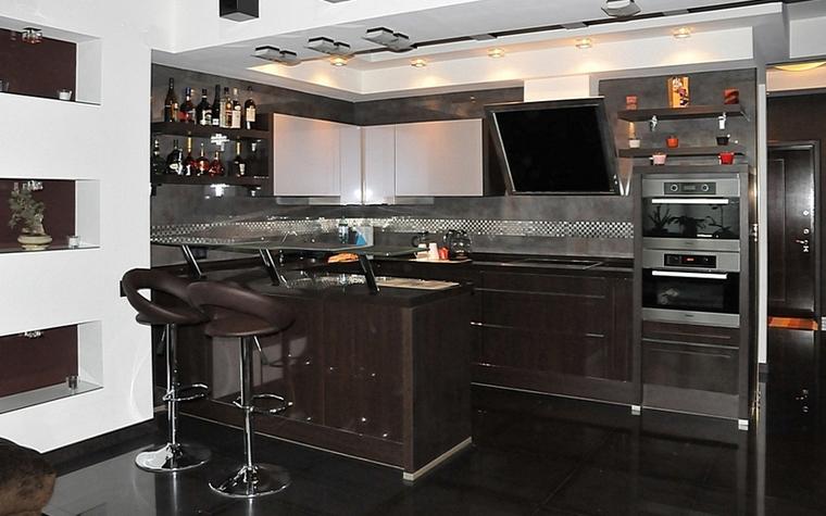 Квартира. кухня из проекта , фото №7490