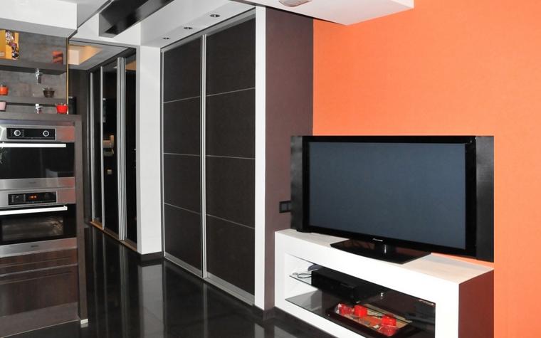 Квартира. гостиная из проекта , фото №7500