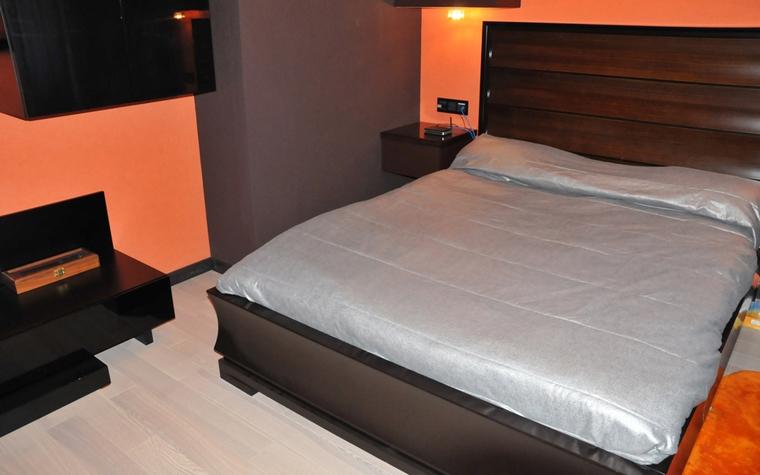 Квартира. спальня из проекта , фото №7493