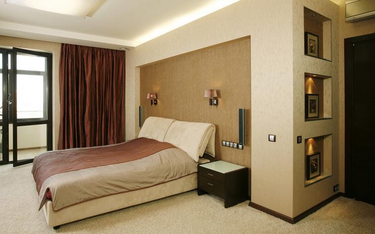 Квартира. спальня из проекта , фото №7523