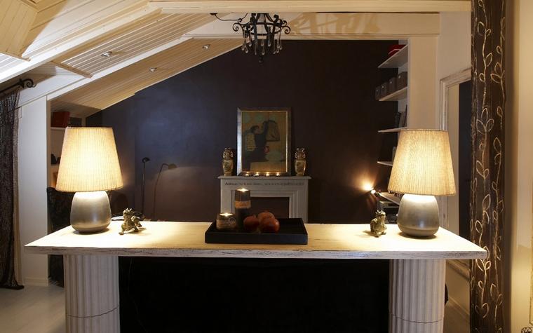 Квартира. гостиная из проекта , фото №7526