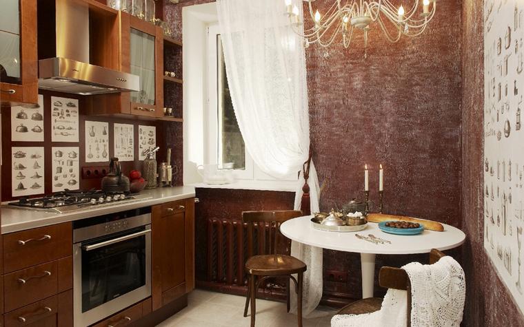 Квартира. кухня из проекта , фото №7535