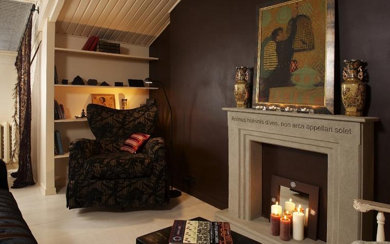 Квартира. гостиная из проекта , фото №7528