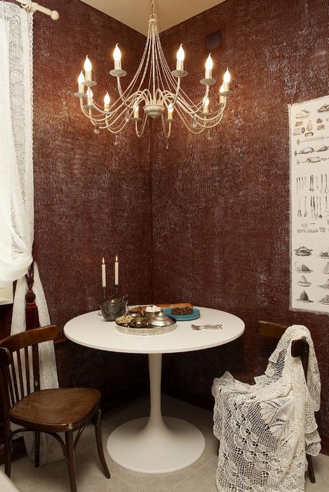 Квартира. кухня из проекта , фото №7534