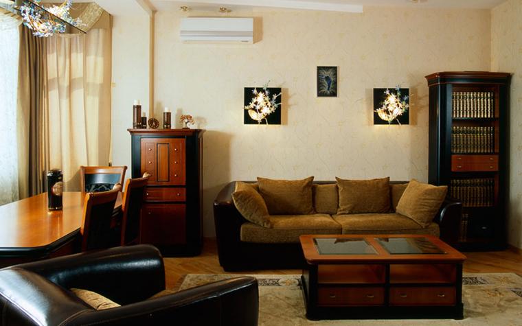 Квартира. гостиная из проекта , фото №7614