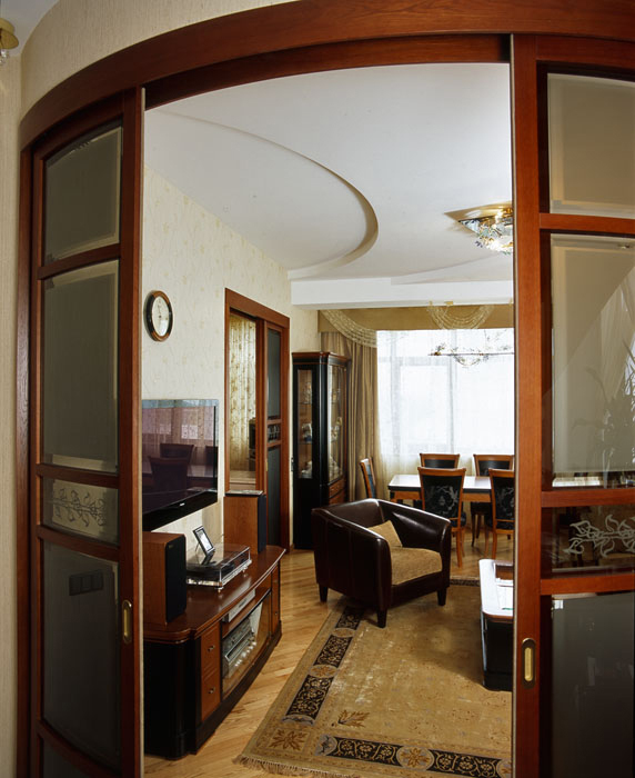 Квартира. гостиная из проекта , фото №7615
