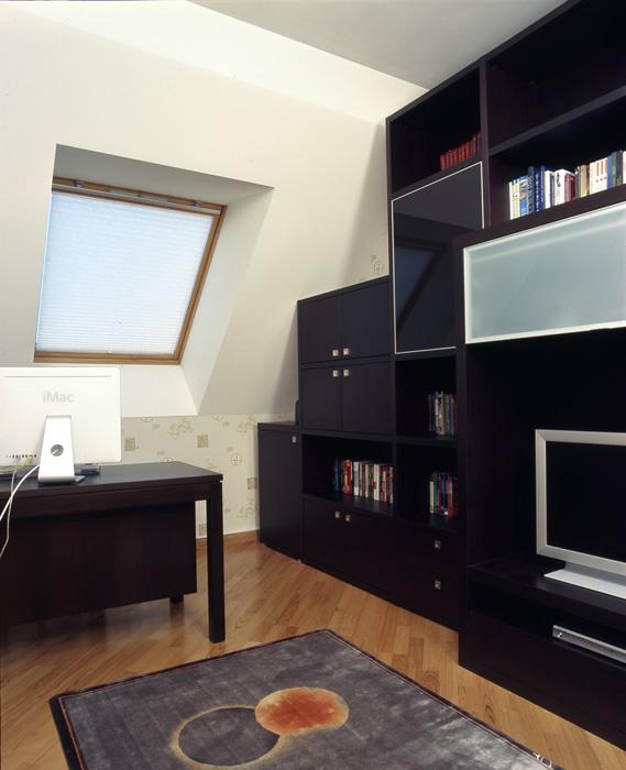 Квартира. кабинет из проекта , фото №7613