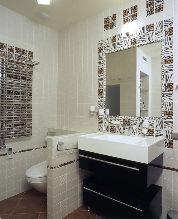 Квартира. ванная из проекта , фото №7623
