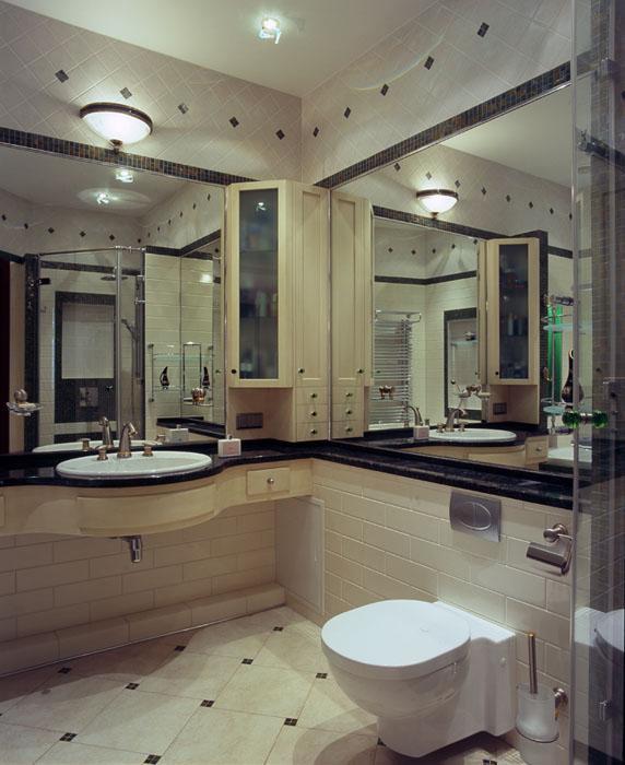 Квартира. ванная из проекта , фото №7624
