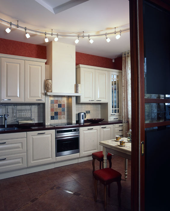 Квартира. кухня из проекта , фото №7619