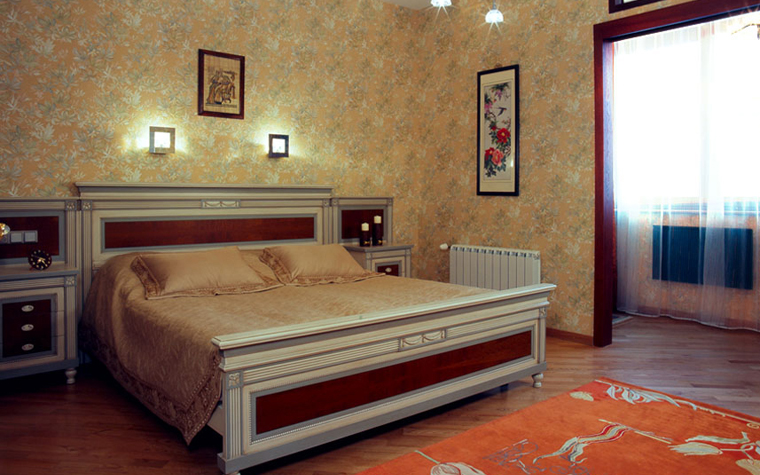 Квартира. спальня из проекта , фото №7616
