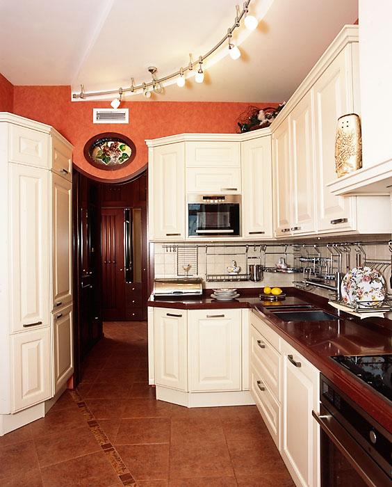 Квартира. кухня из проекта , фото №7620