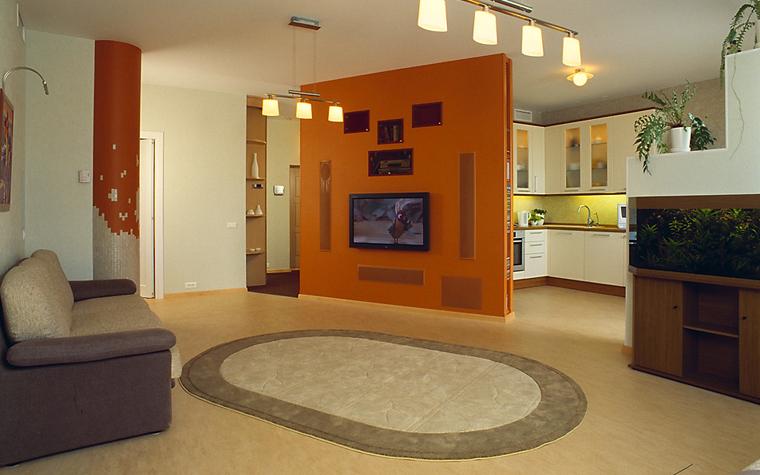 Квартира. гостиная из проекта , фото №7627
