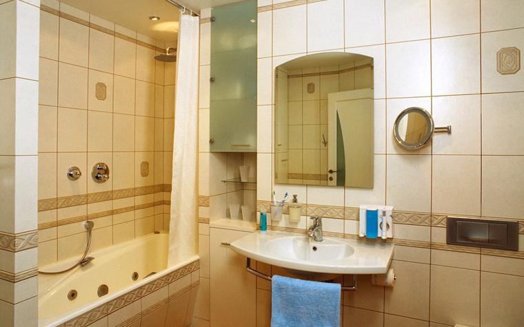 Квартира. ванная из проекта , фото №7629