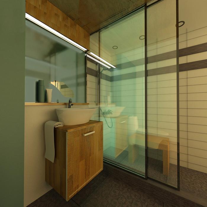 Квартира. ванная из проекта , фото №7802
