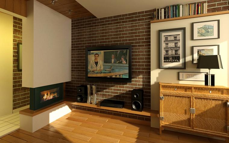 интерьер гостиной - фото № 7800