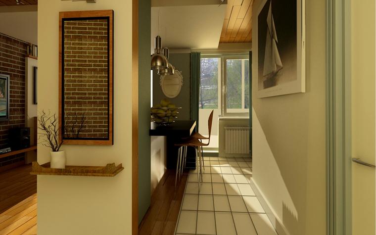 Квартира. холл из проекта , фото №7803