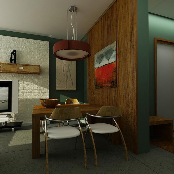 Квартира. гостиная из проекта , фото №7806