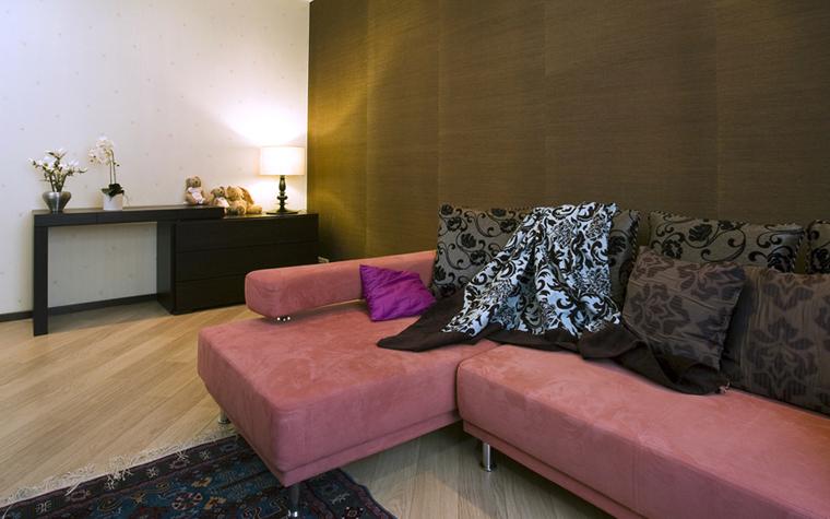 Квартира. гостиная из проекта , фото №7815
