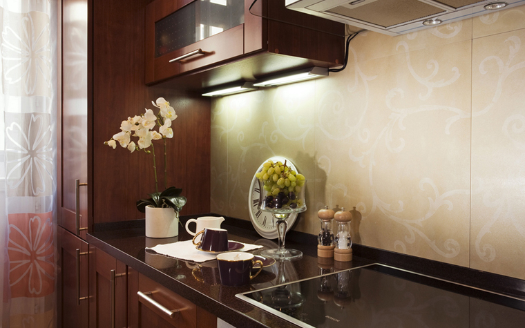 Квартира. кухня из проекта , фото №7817