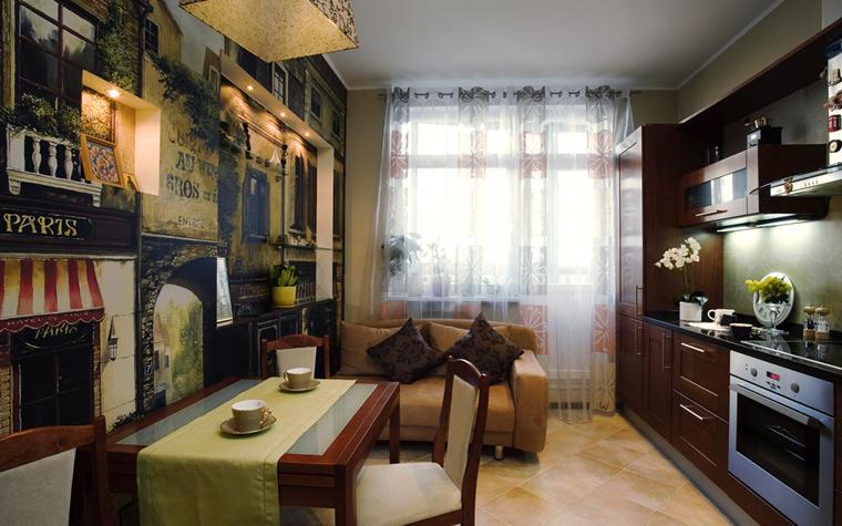 Фото № 7818 кухня  Квартира