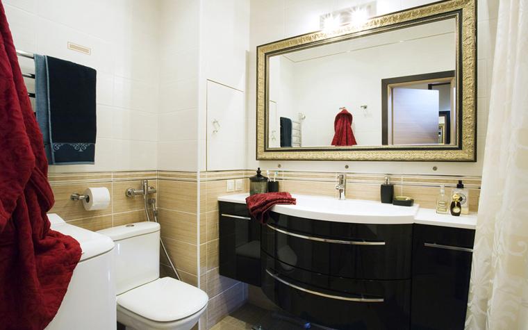 Квартира. ванная из проекта , фото №7821