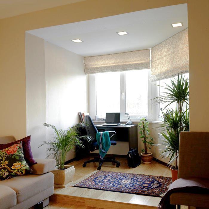 Квартира. кабинет из проекта , фото №7828