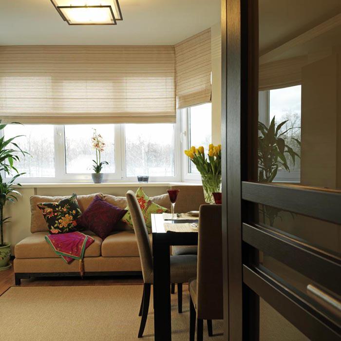 интерьер гостиной - фото № 7823