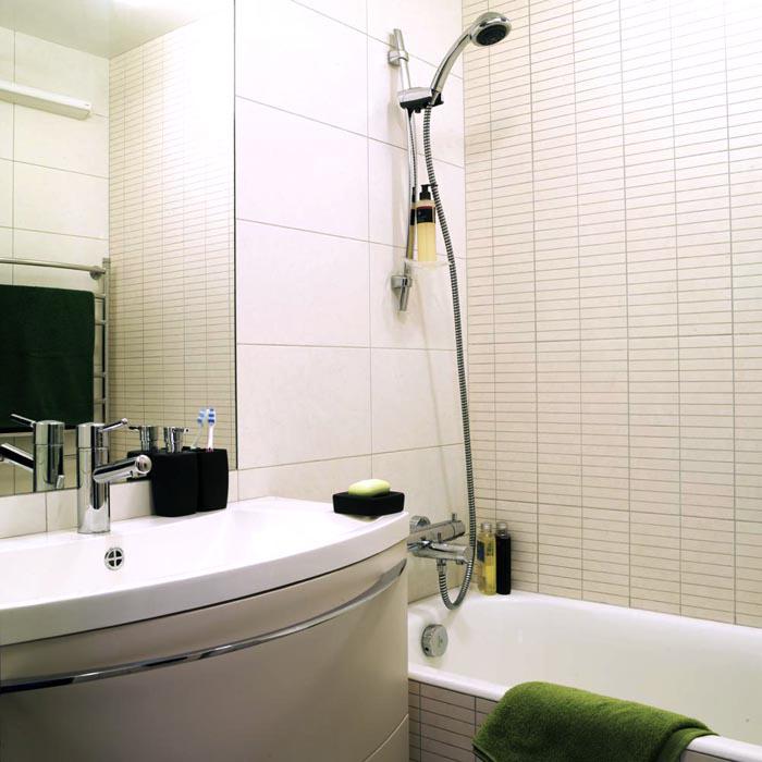 Квартира. ванная из проекта , фото №7831