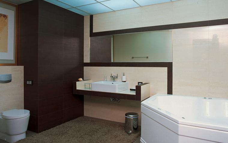 интерьер ванной - фото № 7845