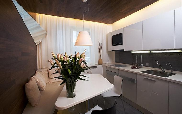 Квартира. кухня из проекта , фото №7892