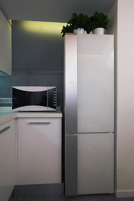 Квартира. кухня из проекта , фото №7901