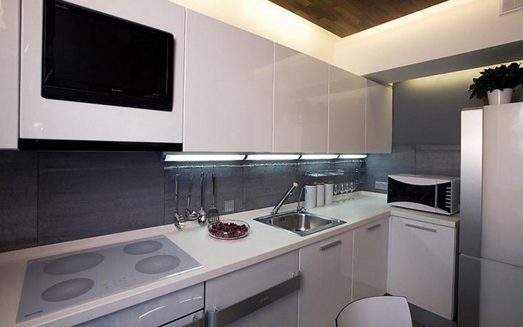 Квартира. кухня из проекта , фото №7894