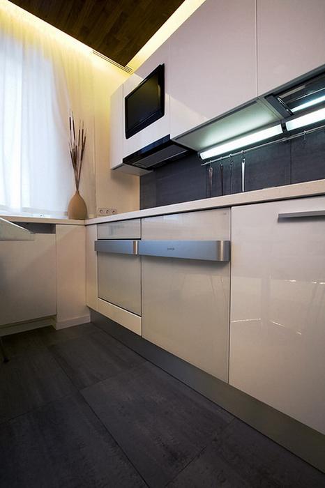 Квартира. кухня из проекта , фото №7896
