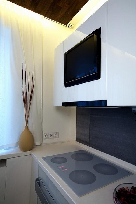 Квартира. кухня из проекта , фото №7897