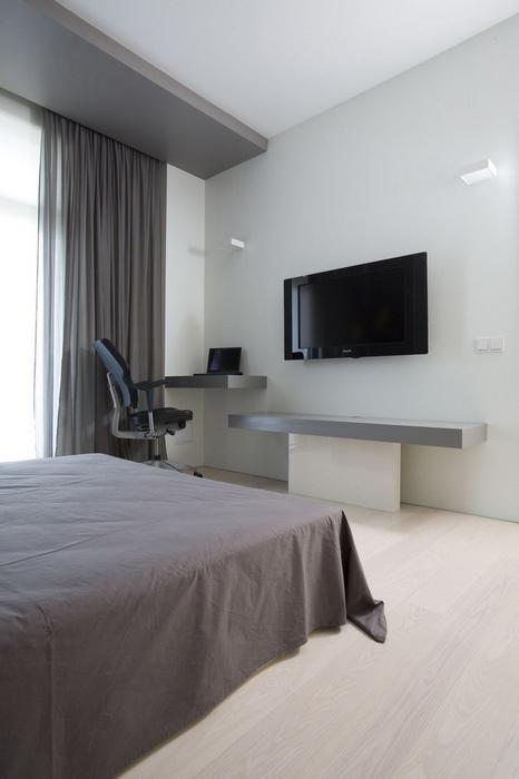 Квартира. спальня из проекта , фото №7908