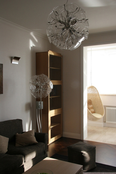 Квартира. гостиная из проекта , фото №7915