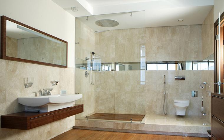 интерьер ванной - фото № 8017