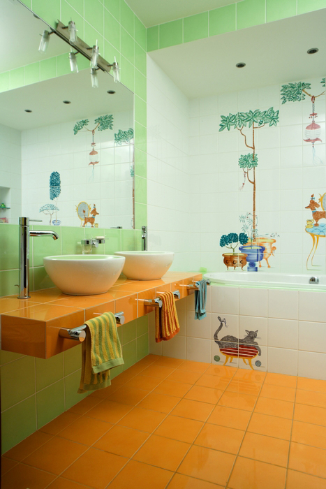 интерьер ванной - фото № 8018