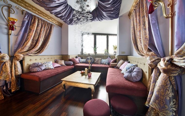 Квартира. гостиная из проекта , фото №8023