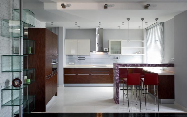 Квартира. кухня из проекта , фото №8034