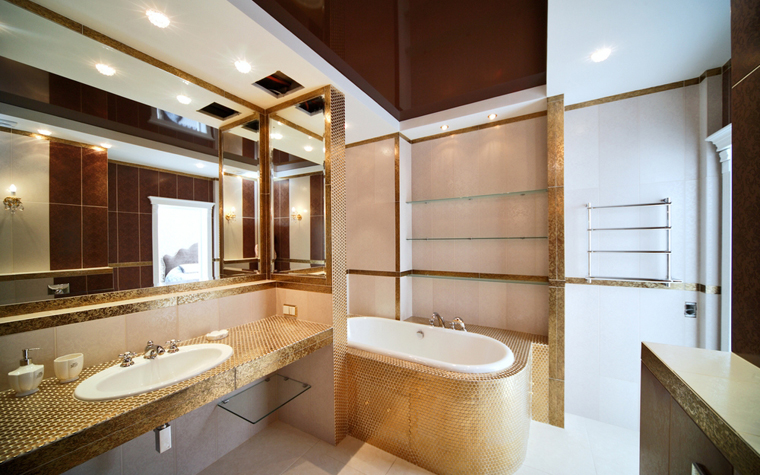 Квартира. ванная из проекта , фото №8032
