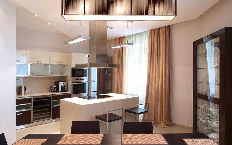 Квартира. кухня из проекта , фото №8057