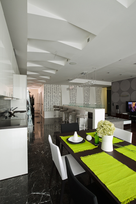 Квартира. кухня из проекта , фото №8085