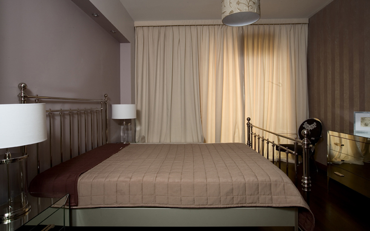 Квартира. спальня из проекта , фото №8099